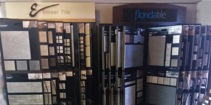 Gateway Floors Showroom Tile
