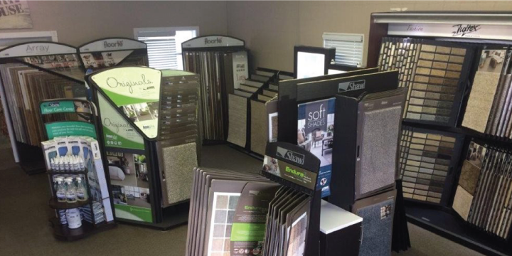 Gateway Floors Showroom Carpet